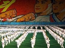 The Arirang Mass Games, held in the Rungnado M...
