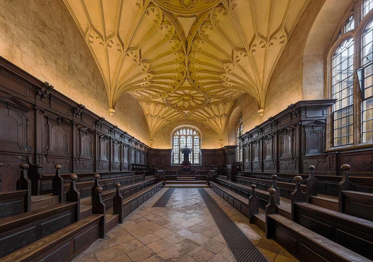 Bodleian Library File Convocation House 2 Bodleian Library Oxford Uk