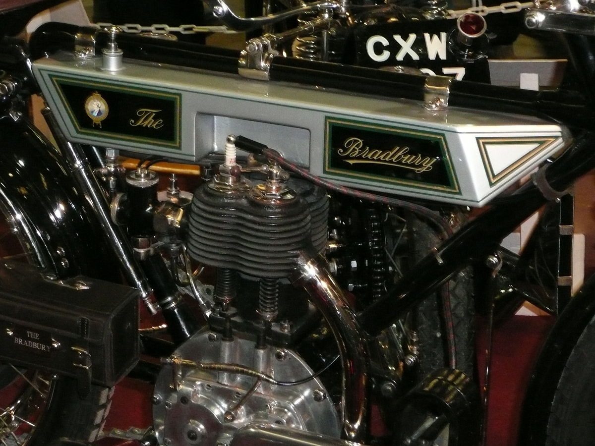 Production Factory Manufacturer Bradbury Motor Cycles Wikipedia