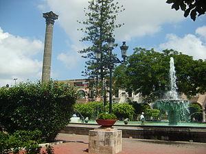 Tepic main plaza.