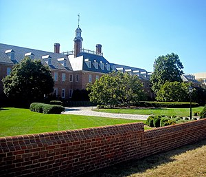 The Colonial Revival headquarters of Fannie Ma...
