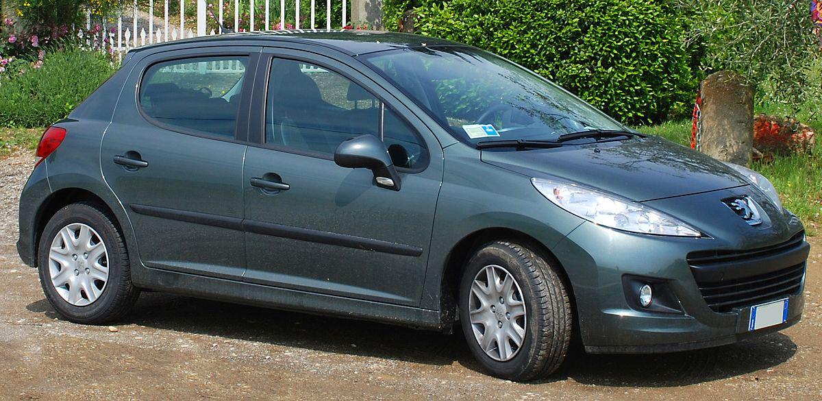 Peugeot 207 - Wikipedia