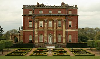 Clandon House in Surrey, England, designed by ...