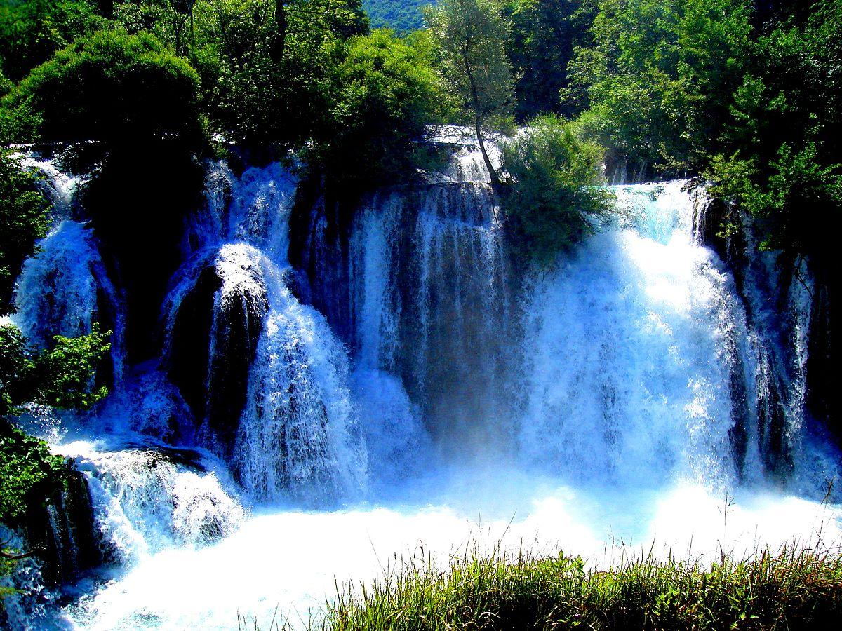 3d Live Waterfall Wallpaper For Desktop Una National Park Wikipedia