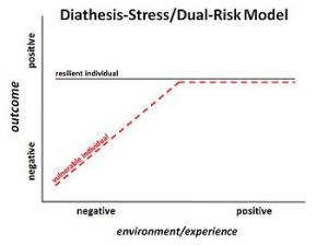 Schematic of diathesis–stress model.