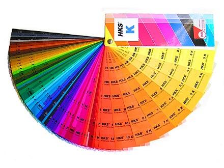 Farbraum - Wikiwand - farbmuster wandfarbe