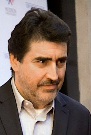 Alfred Molina at the premiere for An Education...