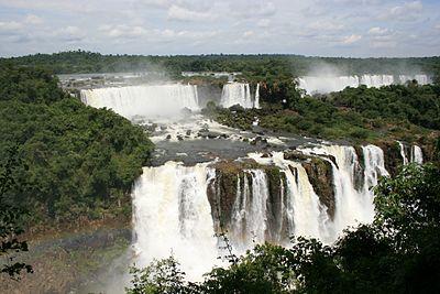 Iguazu Falls Wallpaper Foz Do Igua 231 U Wikivoyage