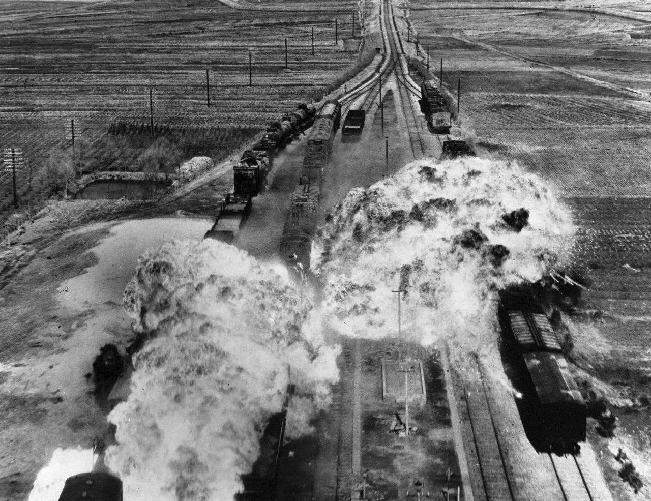 Fall Ceiling Wallpaper Hd File Korean War Train Attack Jpg Wikipedia