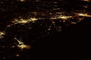 File:U.S. Atlantic Seaboard at Night.JPG