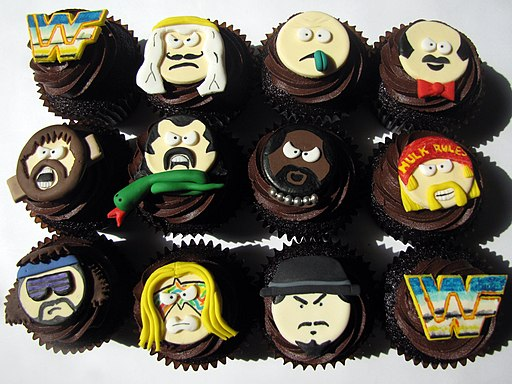 Old School WWF Cupcakes (4556481122)
