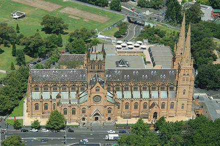 Architecture Wallpaper Fall St Mary S Cathedral Sydney Wikipedia