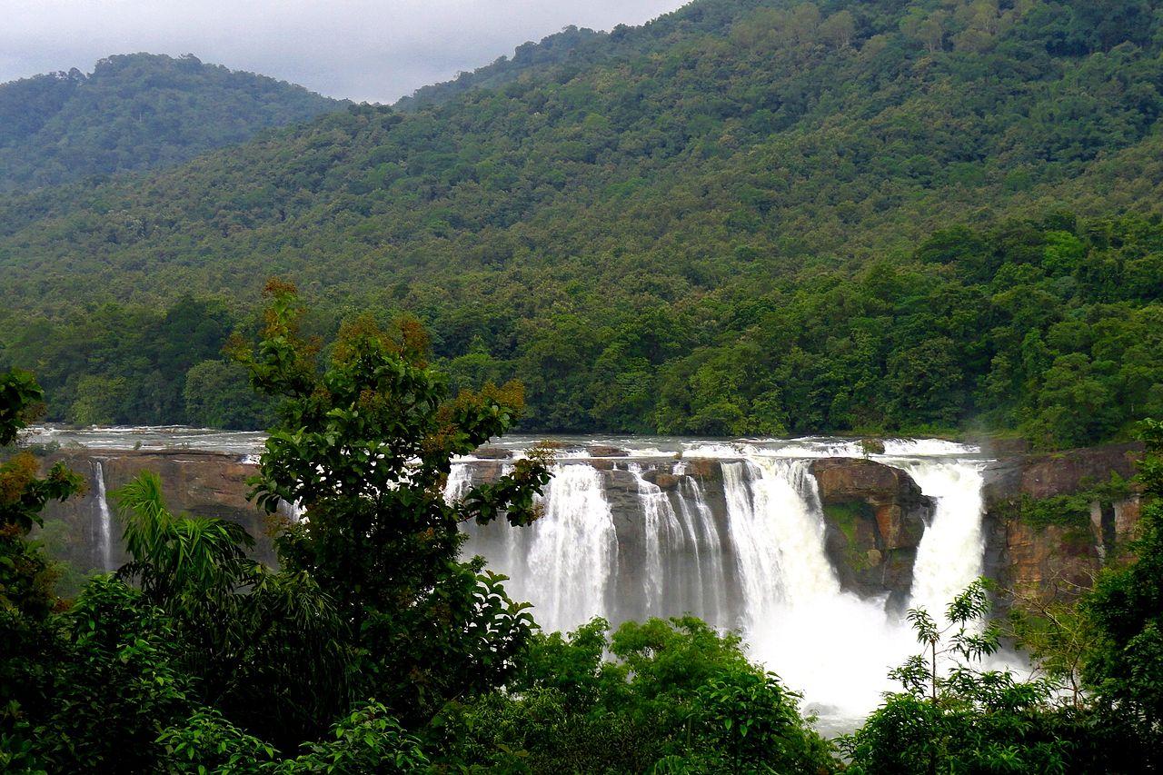 Athirapally Falls Wallpapers File Athirappalli Waterfalls Thrissur Kerala Jpg Wikipedia