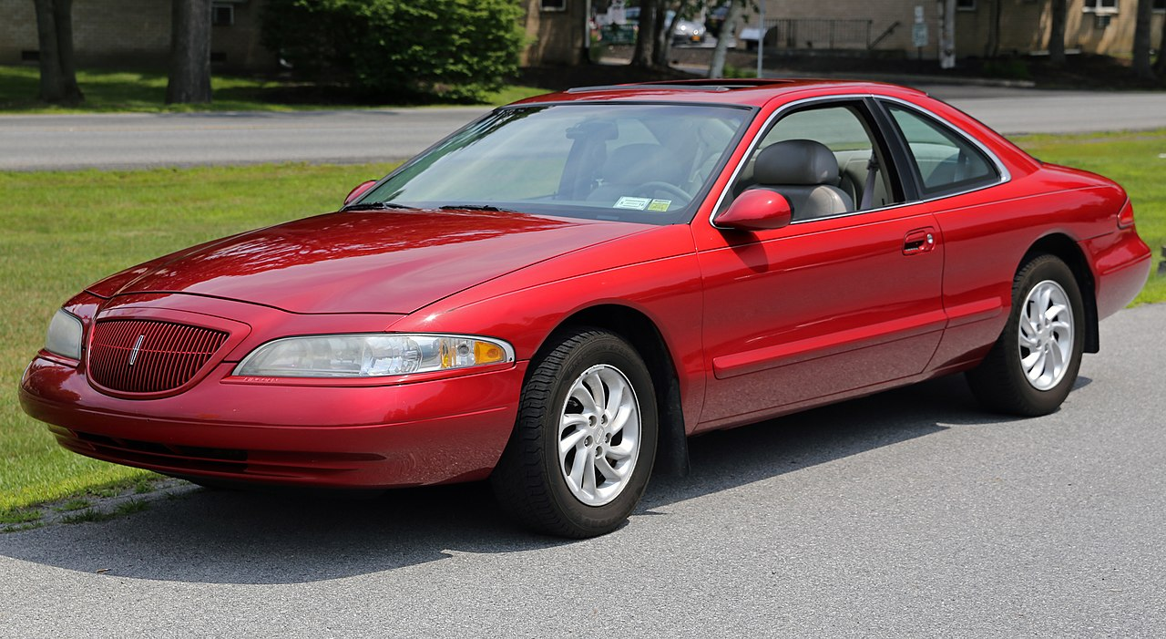 Lsc File:1998 Lincoln Mark Viii Lsc In Red, Front Left.jpg