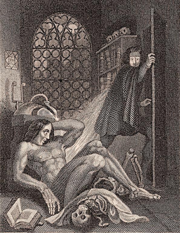 FileFrontispiece to Frankenstein 1831jpg - Wikimedia Commons
