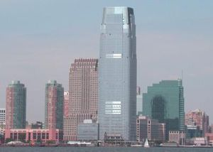 English: Jersey City, New Jersey skyline