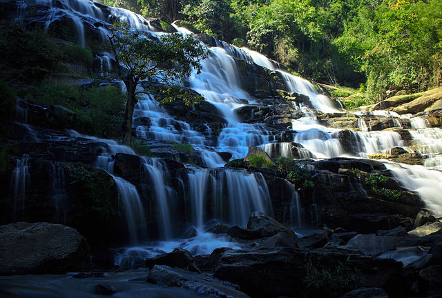 Mae Ya Waterfall in Doi Inthanon National Park