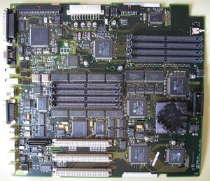 Macintosh Quadra 840AV system board Printed nu...