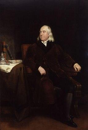 Jeremy Benthams NPG portrait