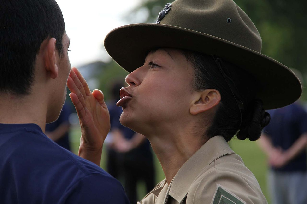 Pictures Of Marine Drill Instructors Screaming In People39s