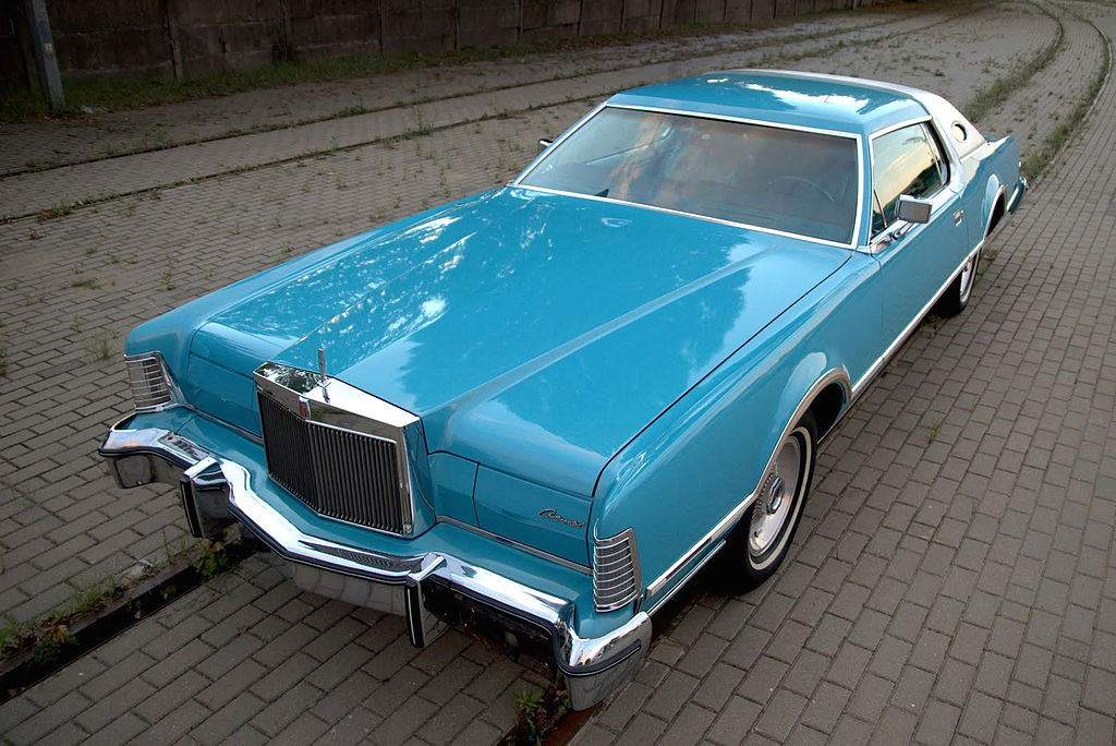 File1976 Lincoln Continental Mark IV Givenchy designer series