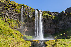 M Name Wallpaper Hd Seljalandsfoss Wikipedia