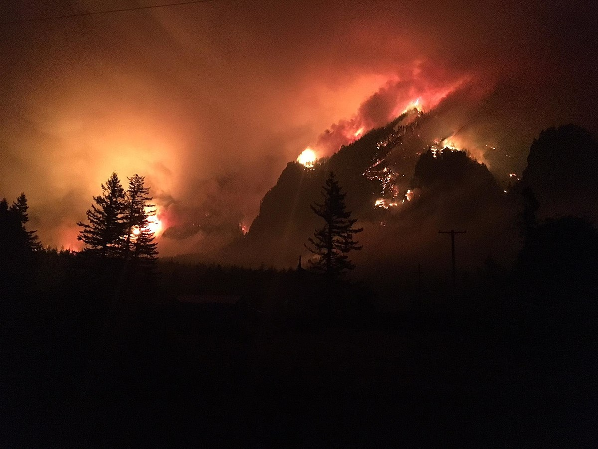 Multonomah Falls Wallpaper Eagle Creek Fire Wikipedia