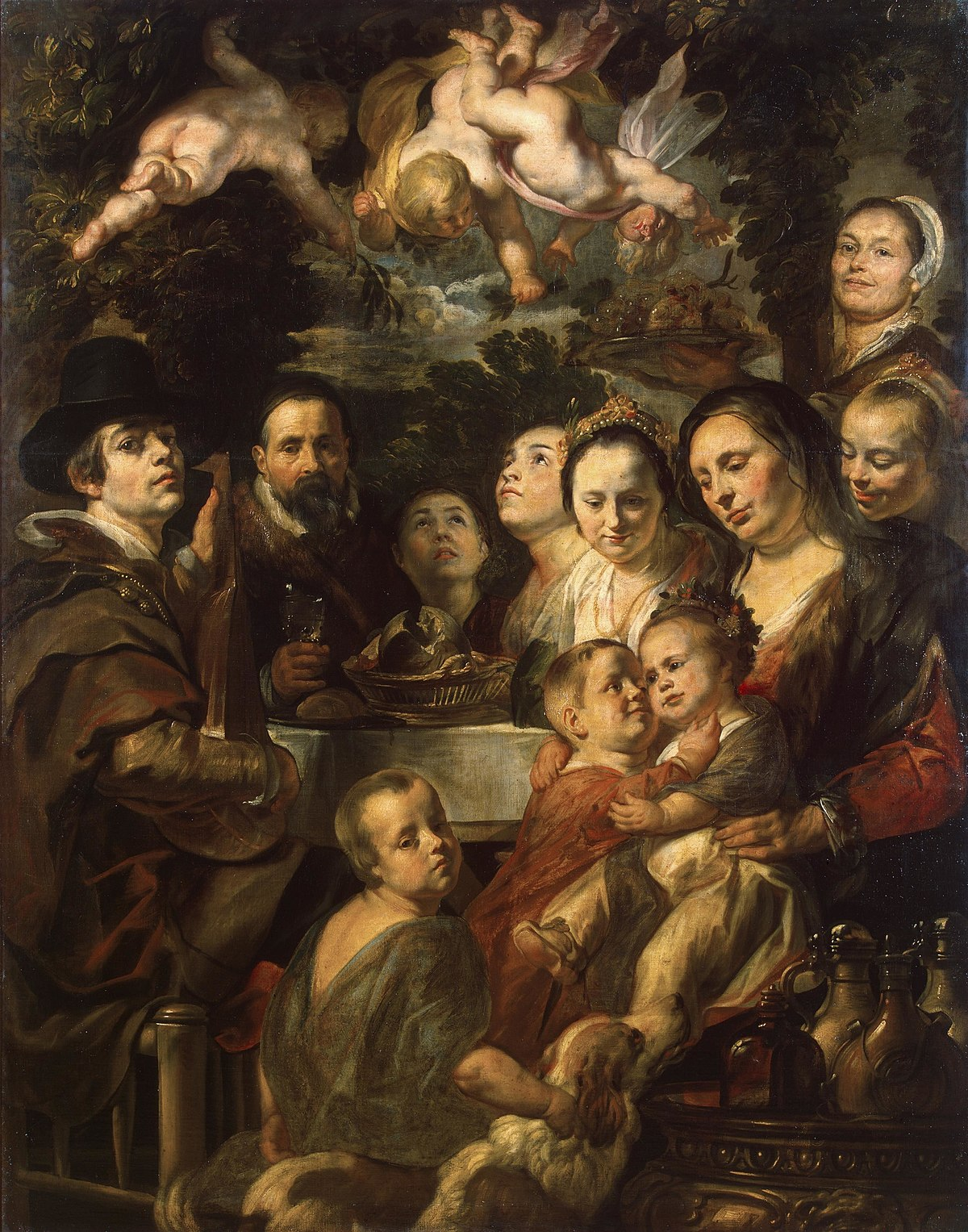 Pittura Contro L' Jacob Jordaens Wikipedia