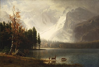 American Paint And Wallpaper Fall River Peinture De Paysage Wikip 233 Dia