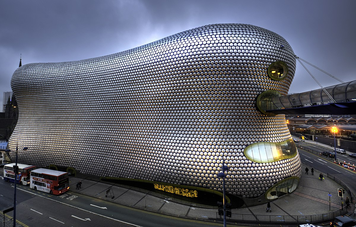 Green City 3d Wallpaper Selfridges Building Birmingham Wikipedia