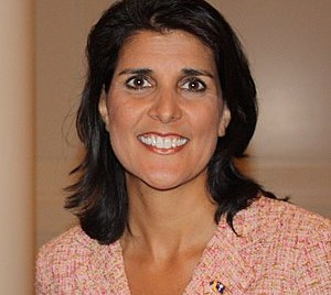 English: South Carolina Governor Nikki Haley