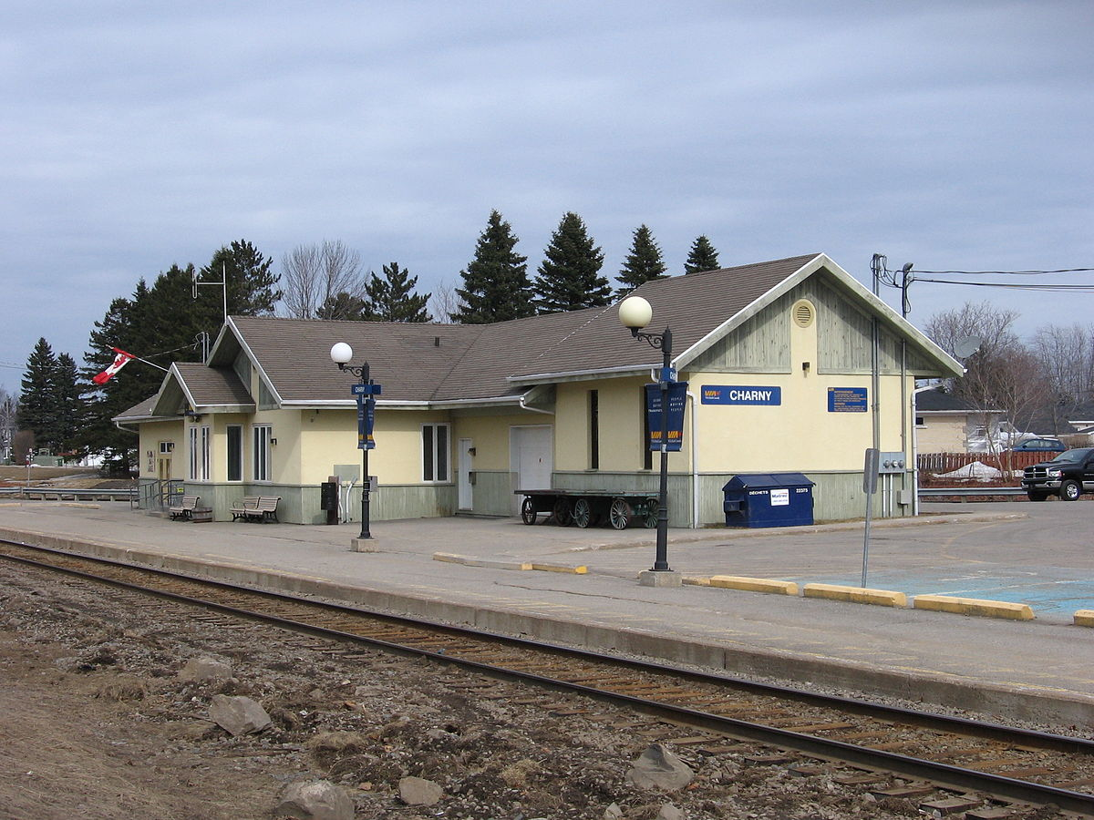 Location Quebec Charny Station - Wikipedia