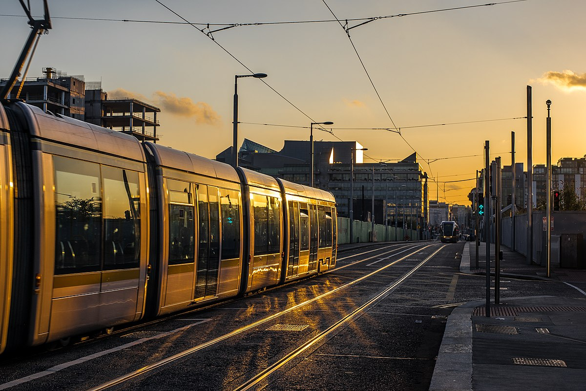 Car Sunset Wallpaper Transport In Dublin Wikipedia