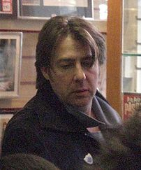 Jonathan Ross in The Cinema Store, London, 17 ...
