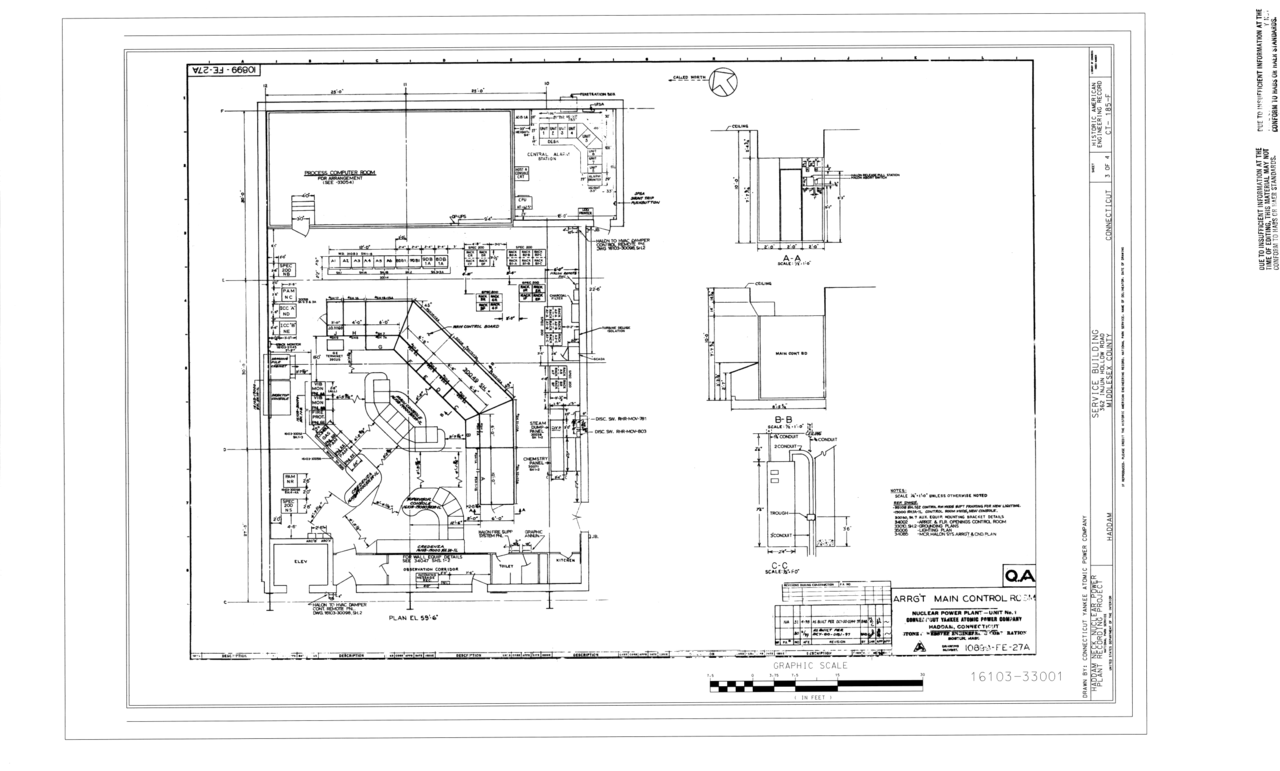 nuclear power plant layout design