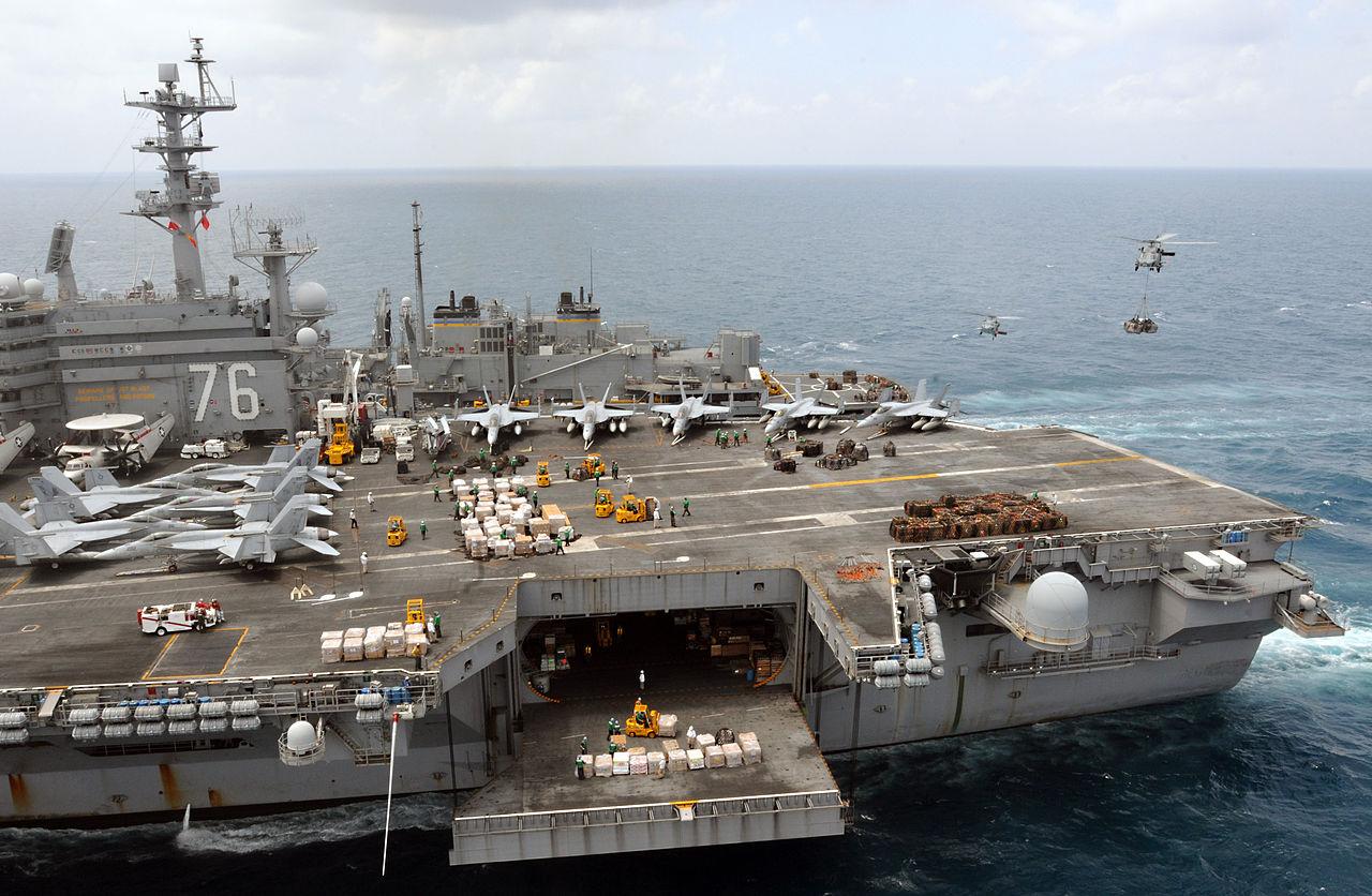 uss seahawk aircraft carrier