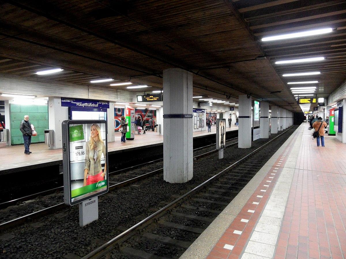 U Bahn Station Hauptbahnhof Hannover Wikipedia