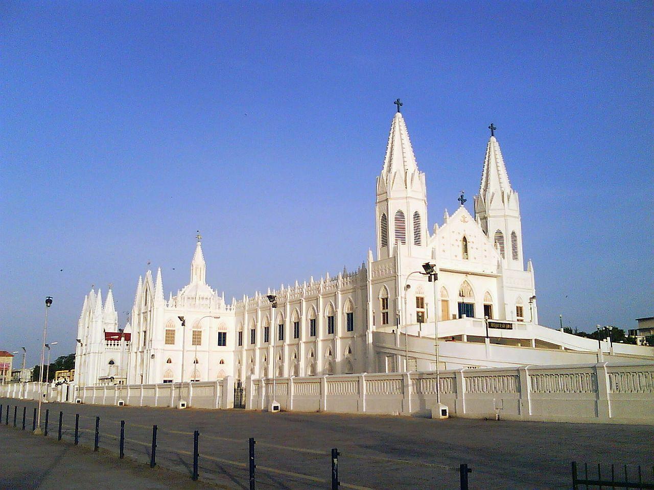 Under The Sea Wallpaper Hd File Velankanni Church Nagapattinam Tamilnadu Panoramio