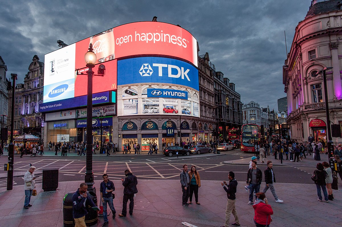 Typisch Londen Piccadilly Circus Wikipedia