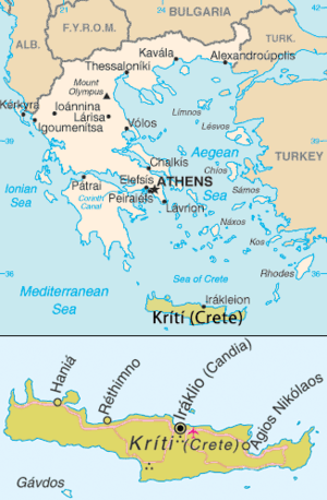 Greece and Crete