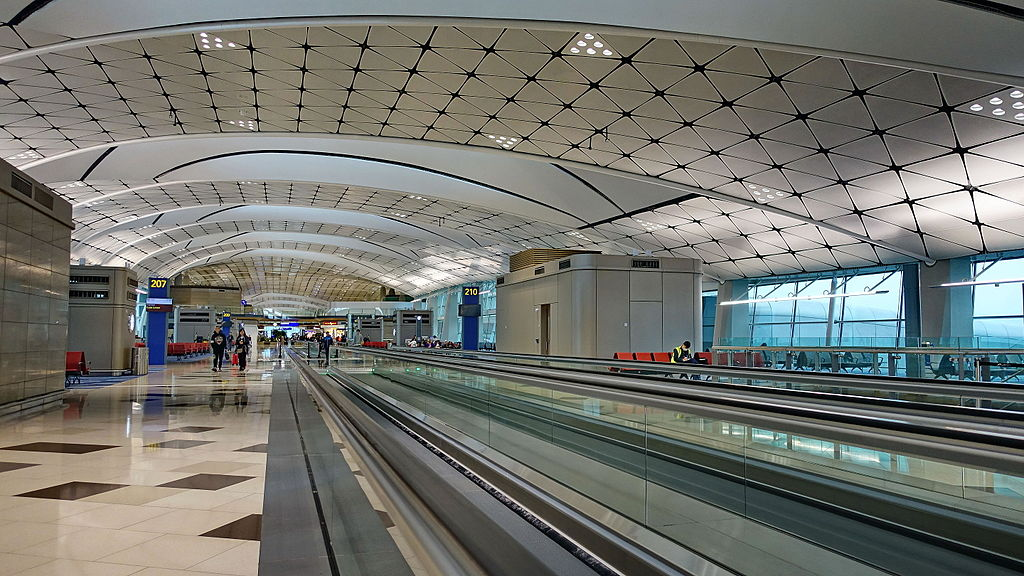 One Roof File:hong Kong International Airport, Midfield Concourse
