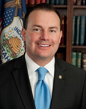 Official portrait of United States Senator Mik...
