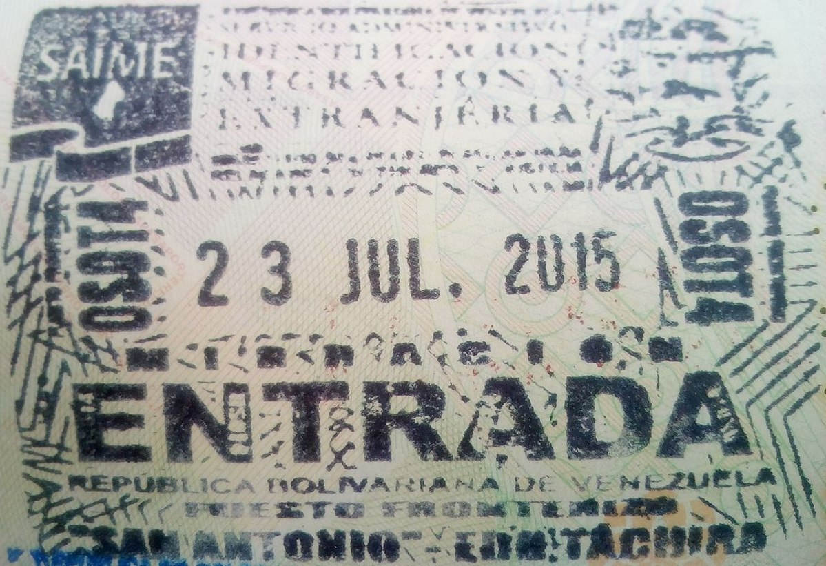 Entry3 Visa Policy Of Venezuela Wikipedia