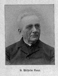 Wilhelm Baur (Theologe)  Wikipedia