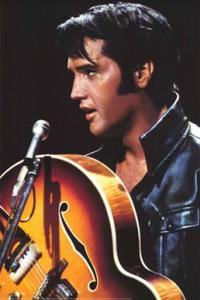 Elvis Presley from an NBC Special - Used under Fair Use Provisions