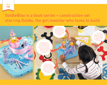 GoldieBlox ad