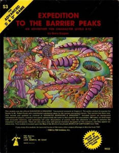 Cover of Dungeons & Dragons module Expedition ...