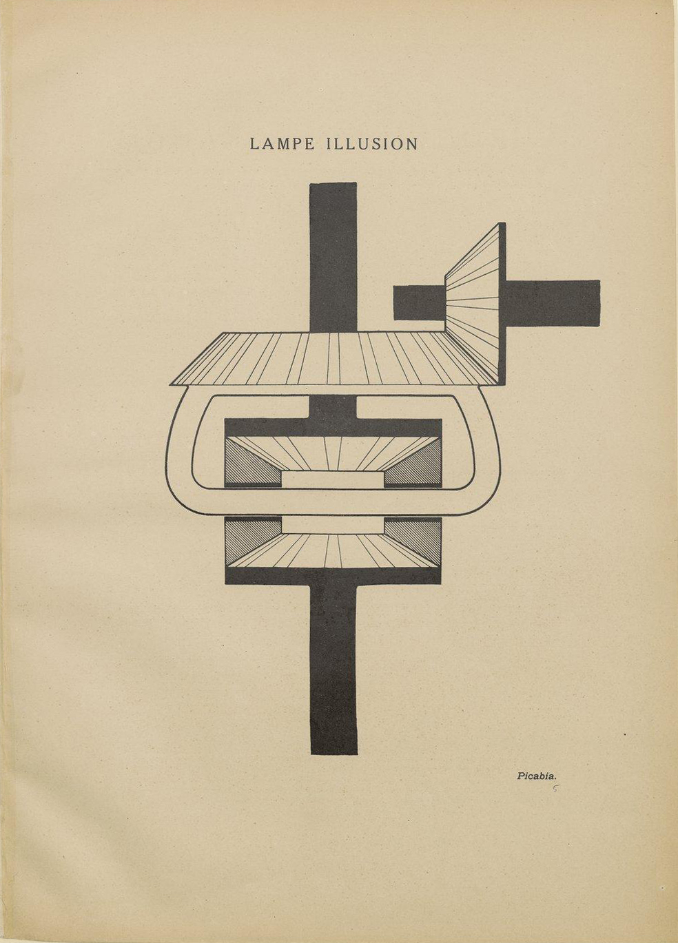 Lampe N File Francis Picabia Lampe Illusion 391 N 3 March 1 1917 Jpg