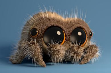 Cute Jumping Spider Wallpaper Lucas The Spider Wikipedia