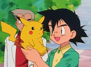 Ash Ketchum and Pikachu together in the pilot ...